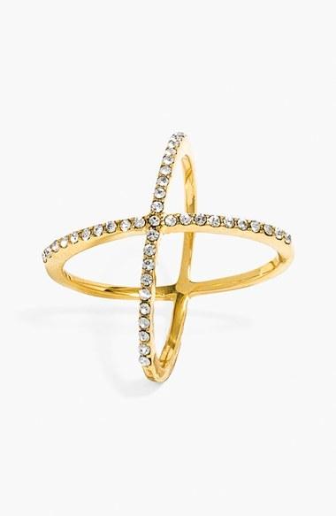 Women's Baublebar 'Mason' Pave Ring