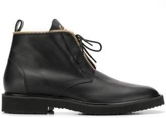Giuseppe Zanotti Design zip-detail ankle boots