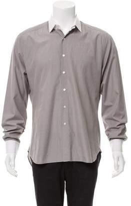 Shipley & Halmos Detachable Collar Button-Up Shirt