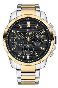 Tommy Hilfiger Decker Two-Tone Stainless Steel Bracelet Watch