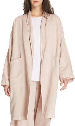 Eileen Fisher Long Kimono Coat
