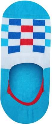 Pantherella Checkerboard Invisible Socks