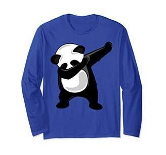 Dabbing Panda Shirt - Panda Bear Dab Dance Long Sleeve Shirt