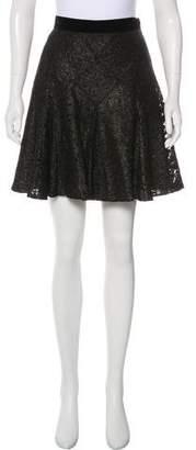Anna Sui Guipure Mini Skirt