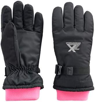 ZeroXposur Girls 4-16 Nancy Fleece Gaiter Gloves