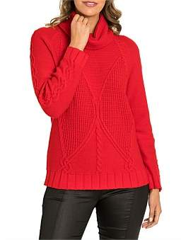 Marc O'Polo Marco Polo Long Sleeve Cosy Cable Sweater