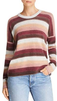 ATM Anthony Thomas Melillo Wool & Cashmere Striped Sweater