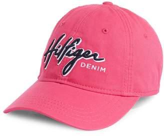 Tommy Hilfiger Embroidered Denim Baseball Cap