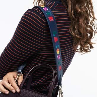 Lacoste Women's Fancy Straps Colored Leather Shoulder Strap
