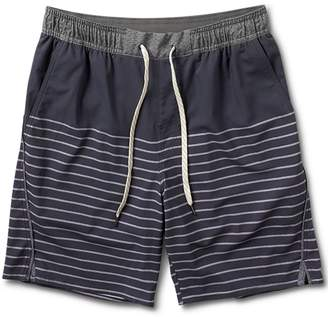 VUORI - Trail Short: Navy Stripe