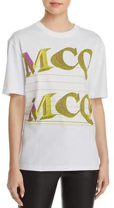 McQ Graphic Boyfriend Tee