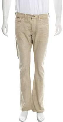 Co RRL & Cropped Five Pocket Bootcut Jeans