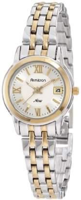 DAY Birger et Mikkelsen Armitron Women's 75/4090SVTT Round Two-Tone Bracelet Date Function Watch
