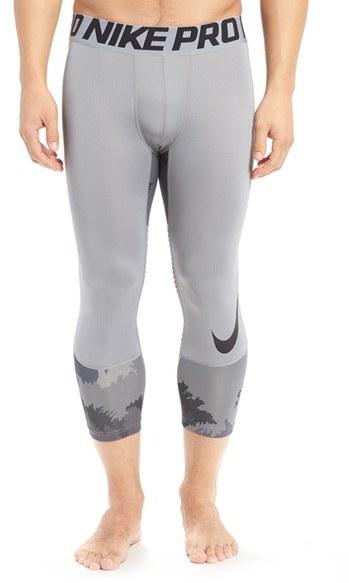 Men's Nike Hypercool Dri-Fit Three Quarter Training Tights