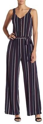 Gilli Striped Sleeveless Jumpsuit