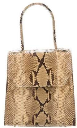 Carlos Falchi Python Top Handle Bag