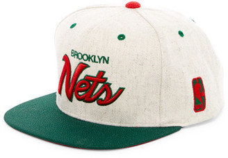 MITCHELL & NESS Brooklyn Nets Brushed Heather Holiday Snapback $30 thestylecure.com