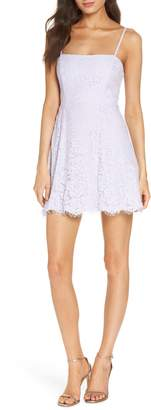 Fame & Partners The Fiona Lace Minidress