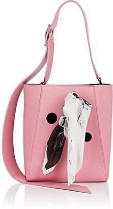 "Calvin Klein Women's ""Ambulance Disaster"" Small Leather Bucket Bag"