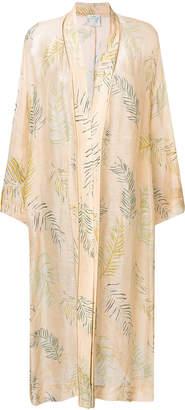 Forte Forte plants print kimono coat