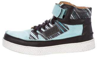 Kenzo Kenyon High-Top Sneakers