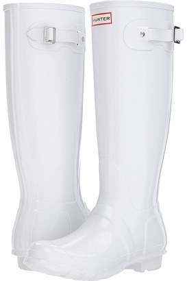 Hunter Tall Gloss Rain Boots Women's Shoes