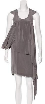 Marni Silk Asymmetrical Dress