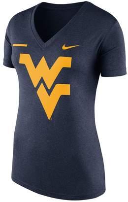 Nike Women's West Virginia Mountaineers Striped Bar Tee