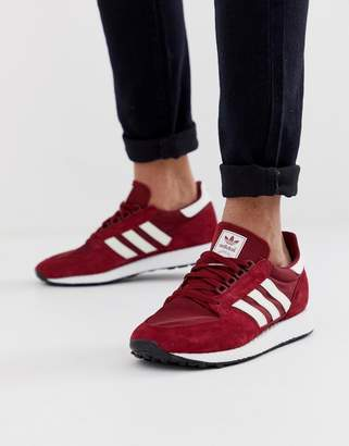 320bb819b4 adidas Red Trainers For Men - ShopStyle UK