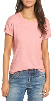 Women's Madewell 'Whisper' Cotton Crewneck Tee $29.50 thestylecure.com