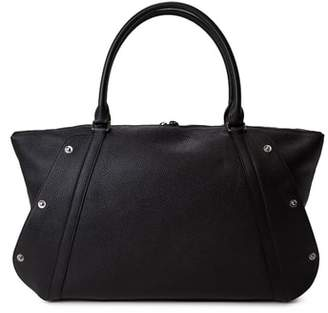 Akris Small Aimee Leather Satchel