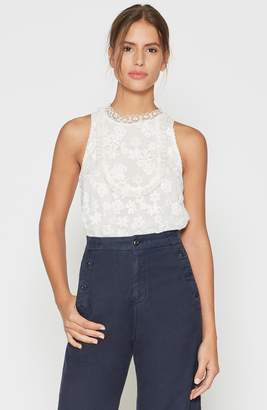 Joie Rayce Lace Top