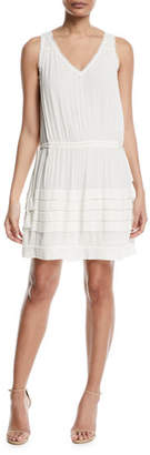 Ramy Brook Melanie V-Neck Sleeveless Dress