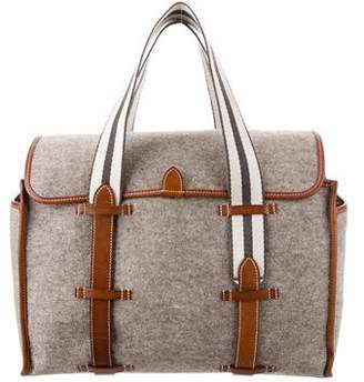 Hermes Felt and Barenia Tote