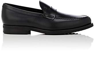 Tod's Men's Leather Penny Loafers - Black