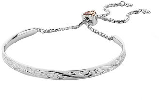 Clogau Silver 9ct Rose Gold Tree of Life Friendship Bracelet