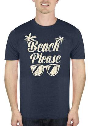 Humör Big Men's Beach Please Graphic T-Shirt, up to Size 2XL