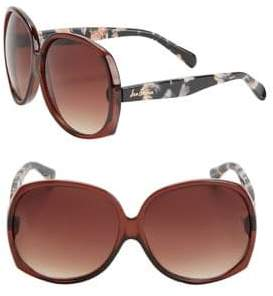 Sam Edelman 63.5MM Round Sunglasses