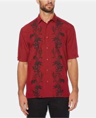 Cubavera Men Big & Tall Pineapple Stripe Short-Sleeve Shirt