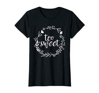 Too Sweet Type 1 Diabetes Awareness Diabetic T-Shirt