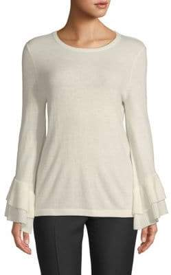Saks Fifth Avenue Tiered Bell-Sleeve Sweater