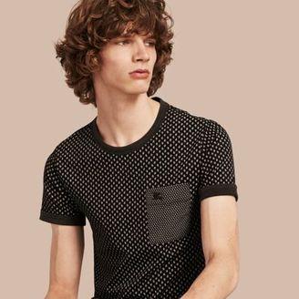 Burberry Paisley Cotton T-shirt $225 thestylecure.com