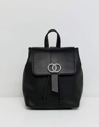 Asos Design DESIGN mini double circle backpack