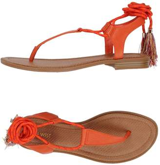 Nine West Toe strap sandals