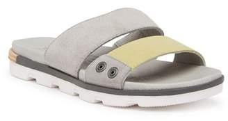 Sorel Torpeda Slide II Suede & Leather Sandal