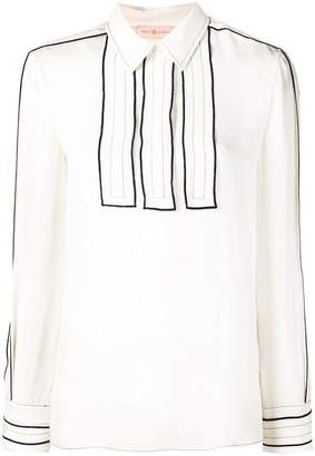 Tory Burch contoured silk shirt