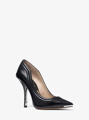 Michael Kors April Calf Leather Pump