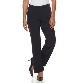 Briggs Petite Scuba Crepe Dress Pants