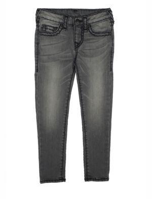 True Religion Toddler's, Little Girl's & Girl's Casey Midnight Super Skinny Jeans $129 thestylecure.com