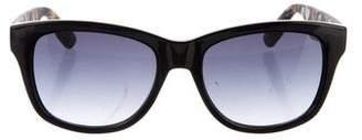 Alexander McQueen Square Gradient Sunglasses